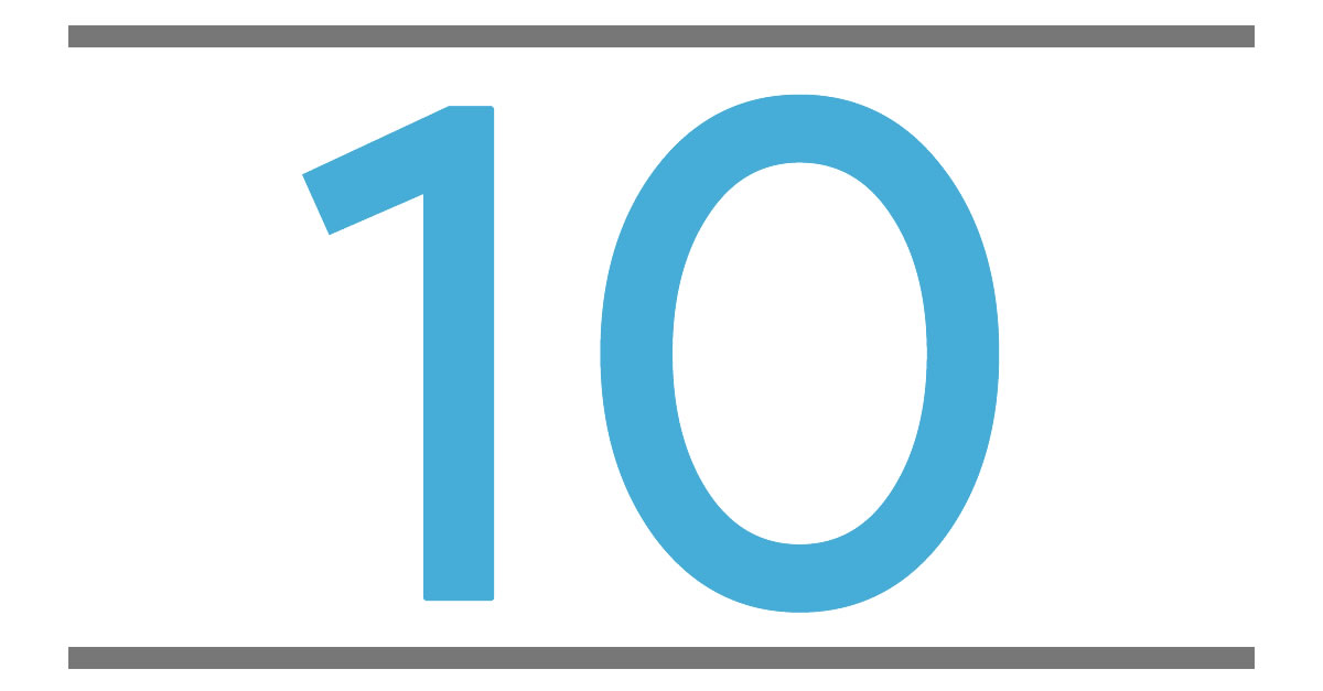 MEANING NUMBER 10